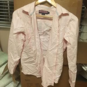 Pink Vineyard Vines Button Down